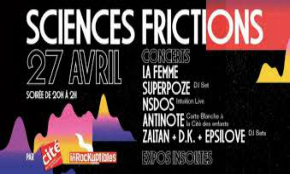 Gagne tes places pour la soirée Sciences Frictions!