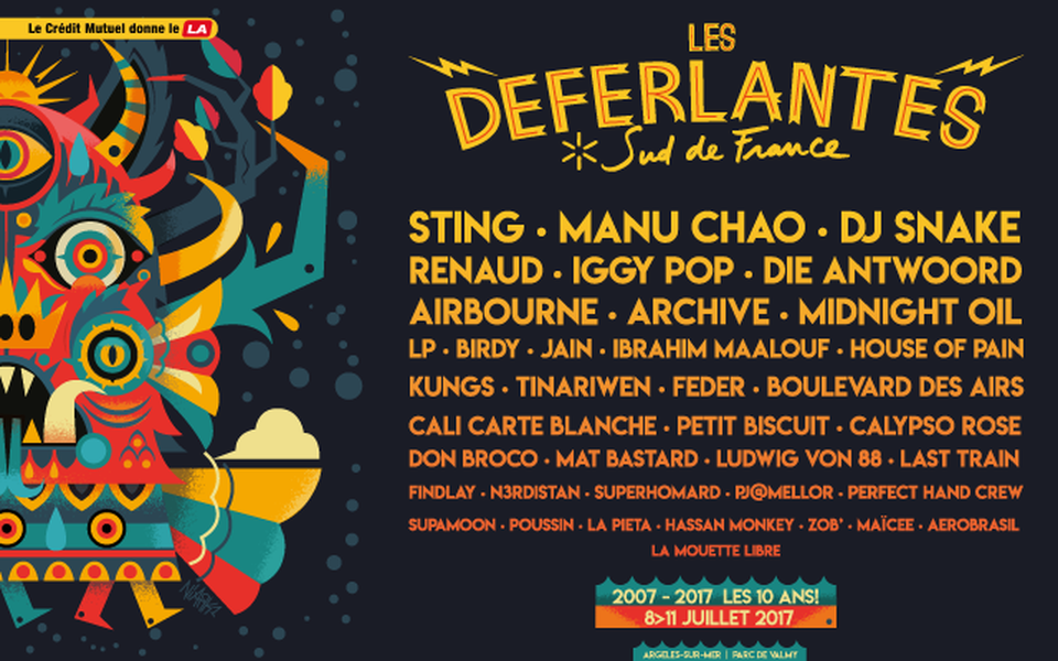 Affiche festival Déferlantes