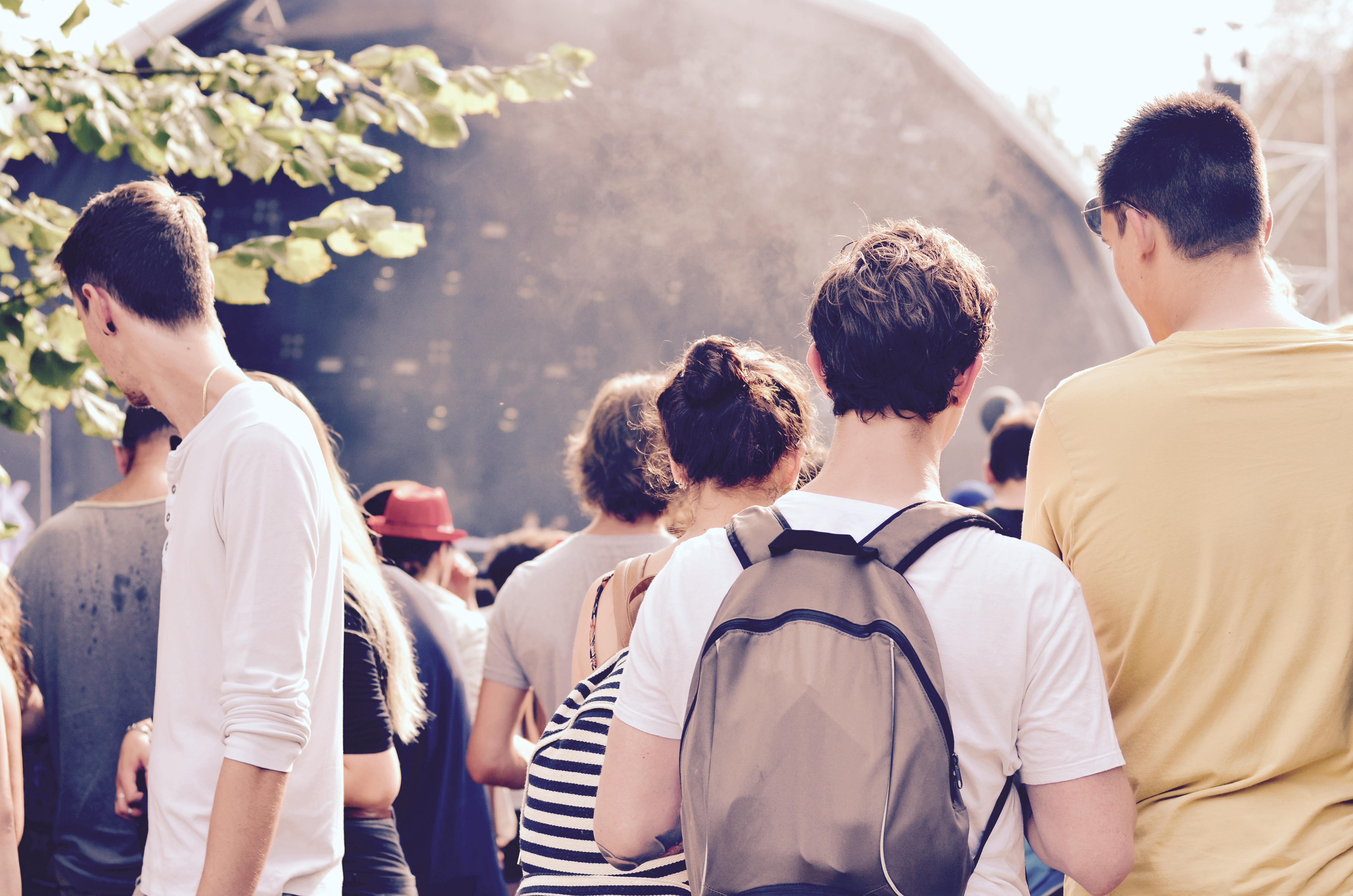 Festivaliers Rock en Seine 2017 easy life