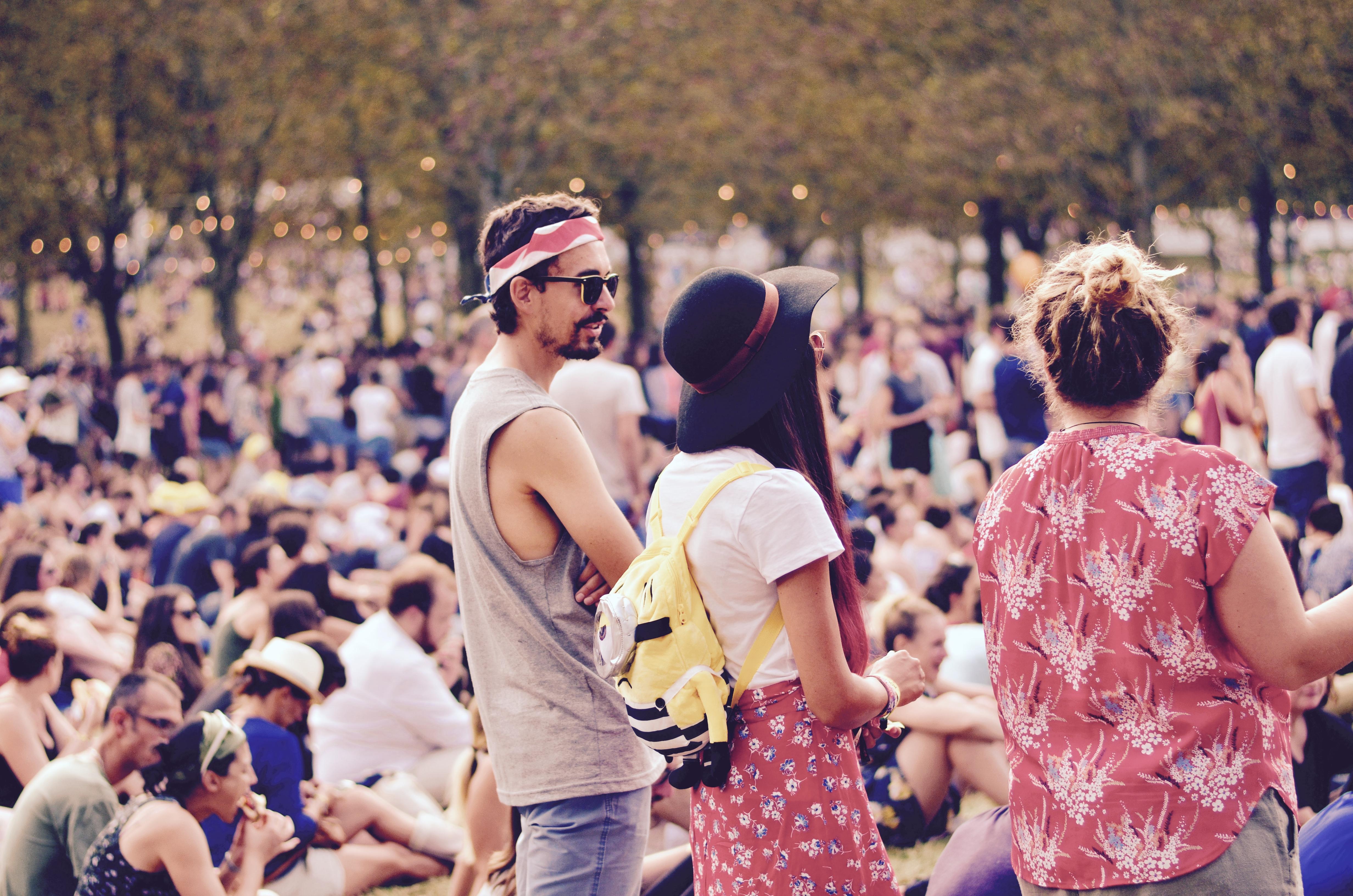 Festivaliers Rock en Seine 2017 Pikachu