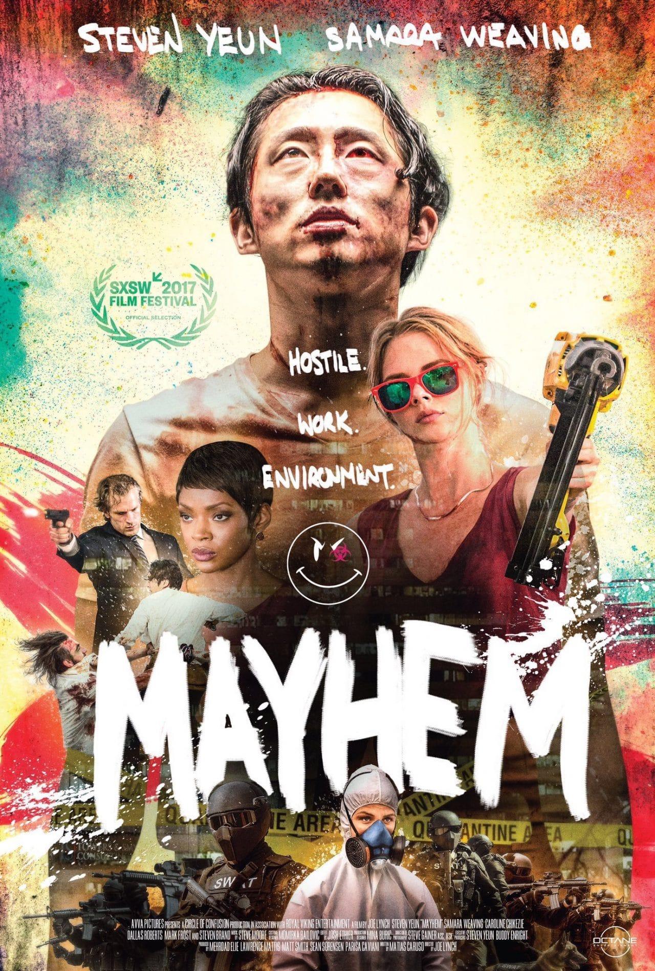 Affiche Film Mayhem