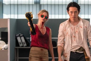 Steven-Yeun-and-Samara-Weaving-in-Mayhem