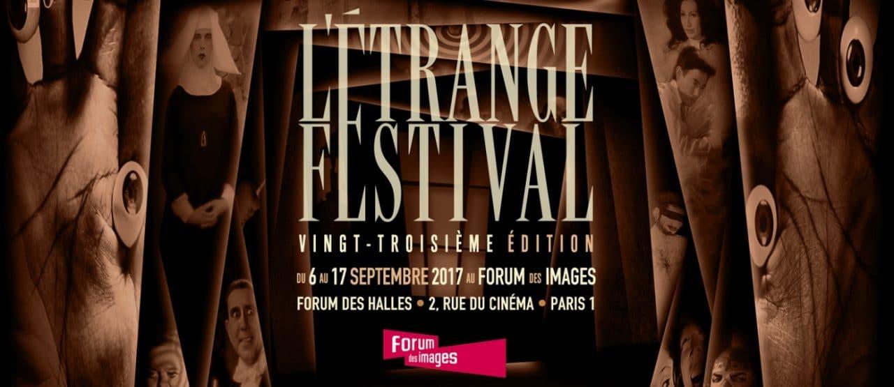Affiche l'étrange Festival 2017