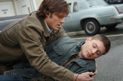 Une des nombreuses fois ou Sam essaie d'empêcher Dean de mourir