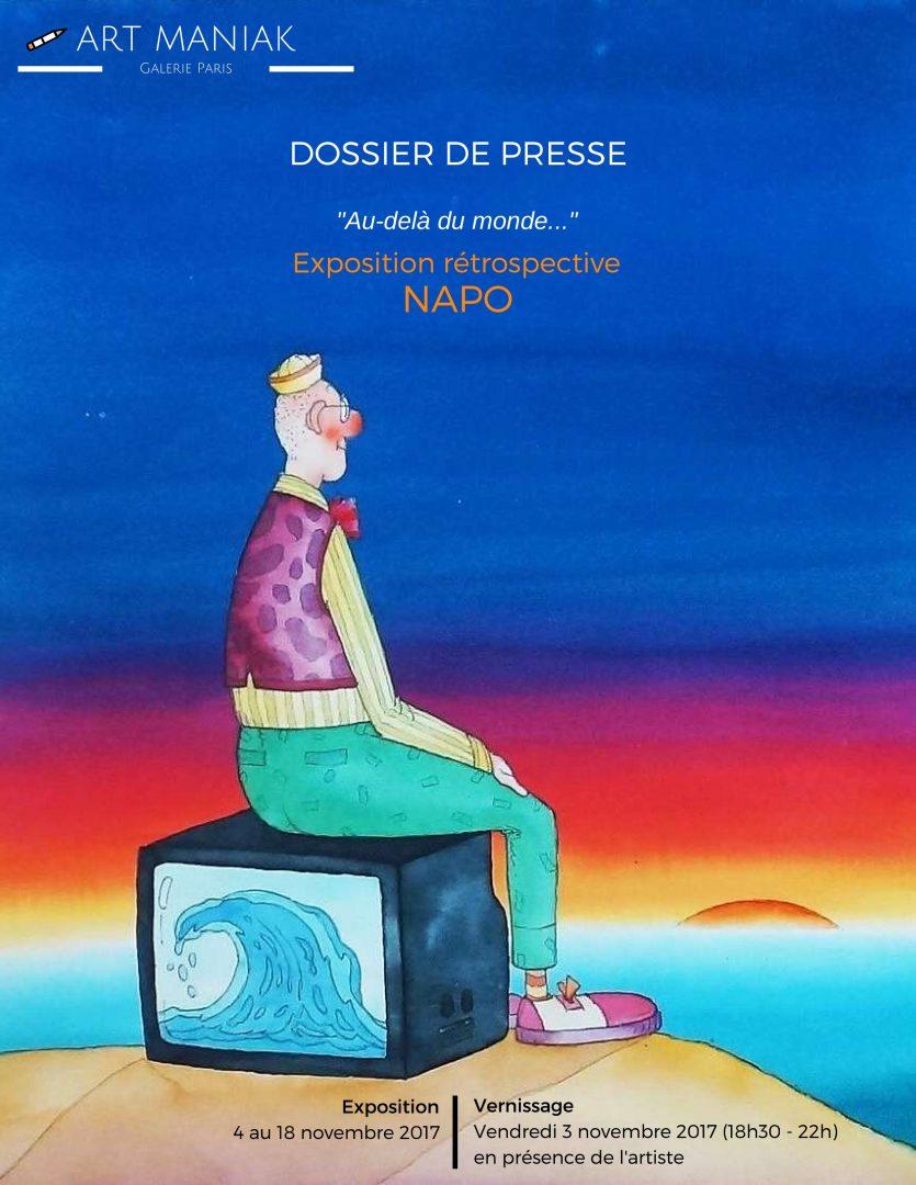 Exposition Napo 2017 Galerie Art-maniak
