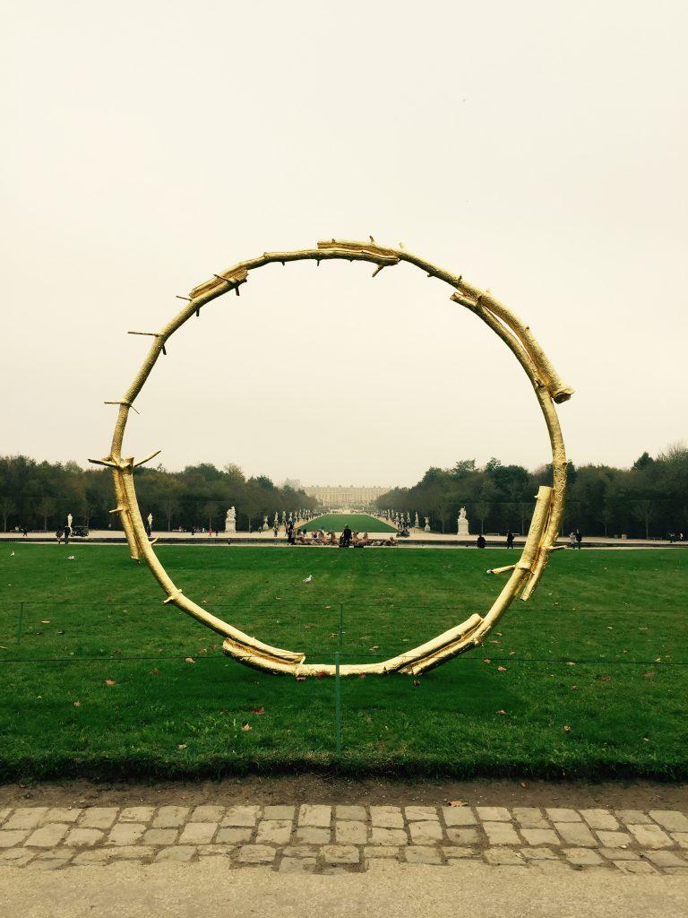 """The Sun"" d'Ugo Rondinone Voyage D'hiver Versailles 2017"