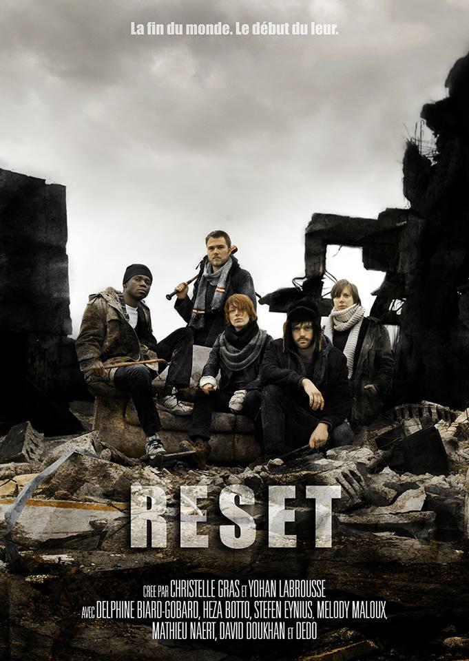"""affiche officielle de la série """"Reset""""2017"""