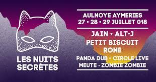 Festival Nuits Secrètes