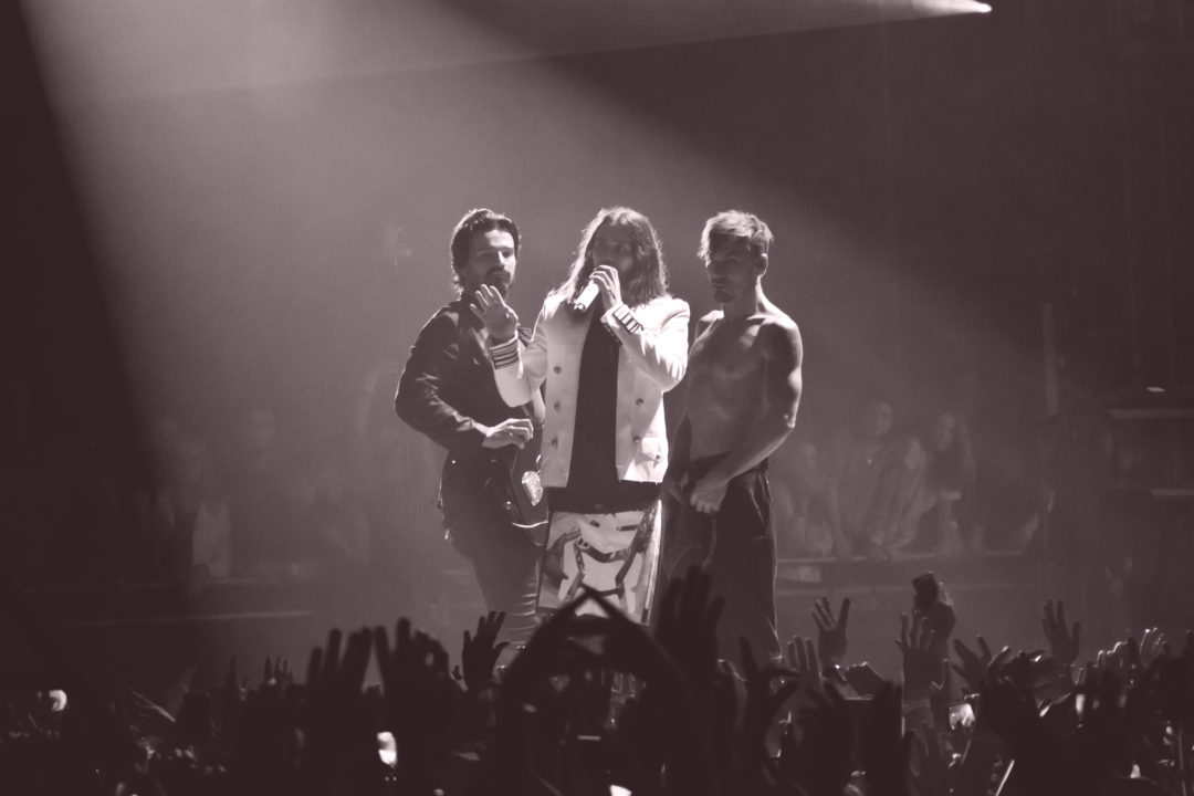 30 seconds to mars 2018 Bercy Hotel Accor Arena