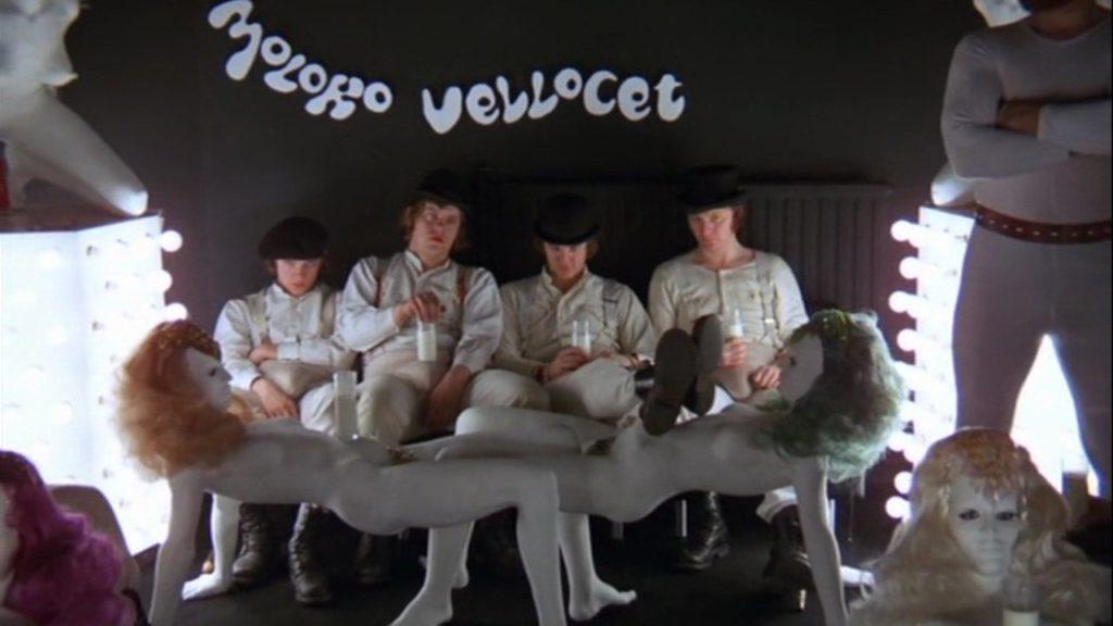 les droogies cultes de Kubrick dans Orange Mécanique