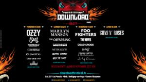 Affiche download festival 2018
