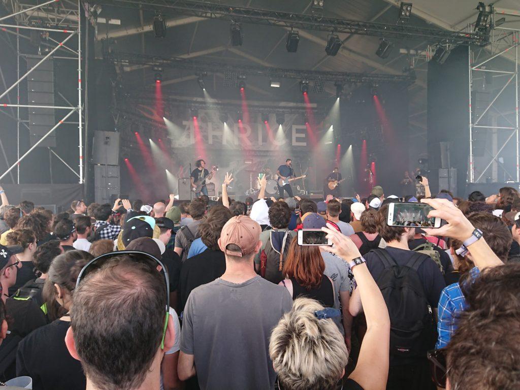 Thrice Dowload festival 2018