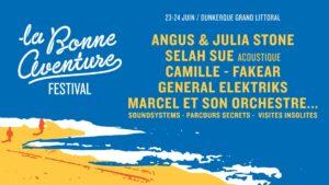 affiche festival la bonne aventure 2018 dunkerque