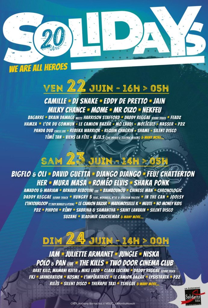 programme solidays 2018
