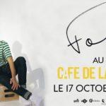 Concert Foé café de la danse 2018