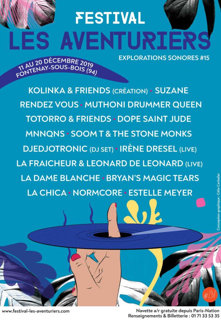 festival les aventuriers programmation 2019.