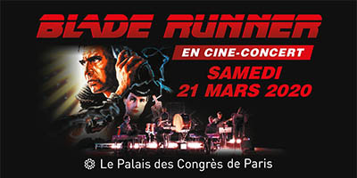 affiche blade runner cine concert 2020