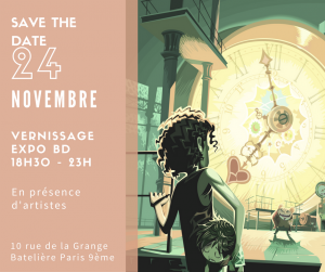 Le 9ème art s'invite au cœur de Paris pour une exposition de bandes-dessinés inédites!