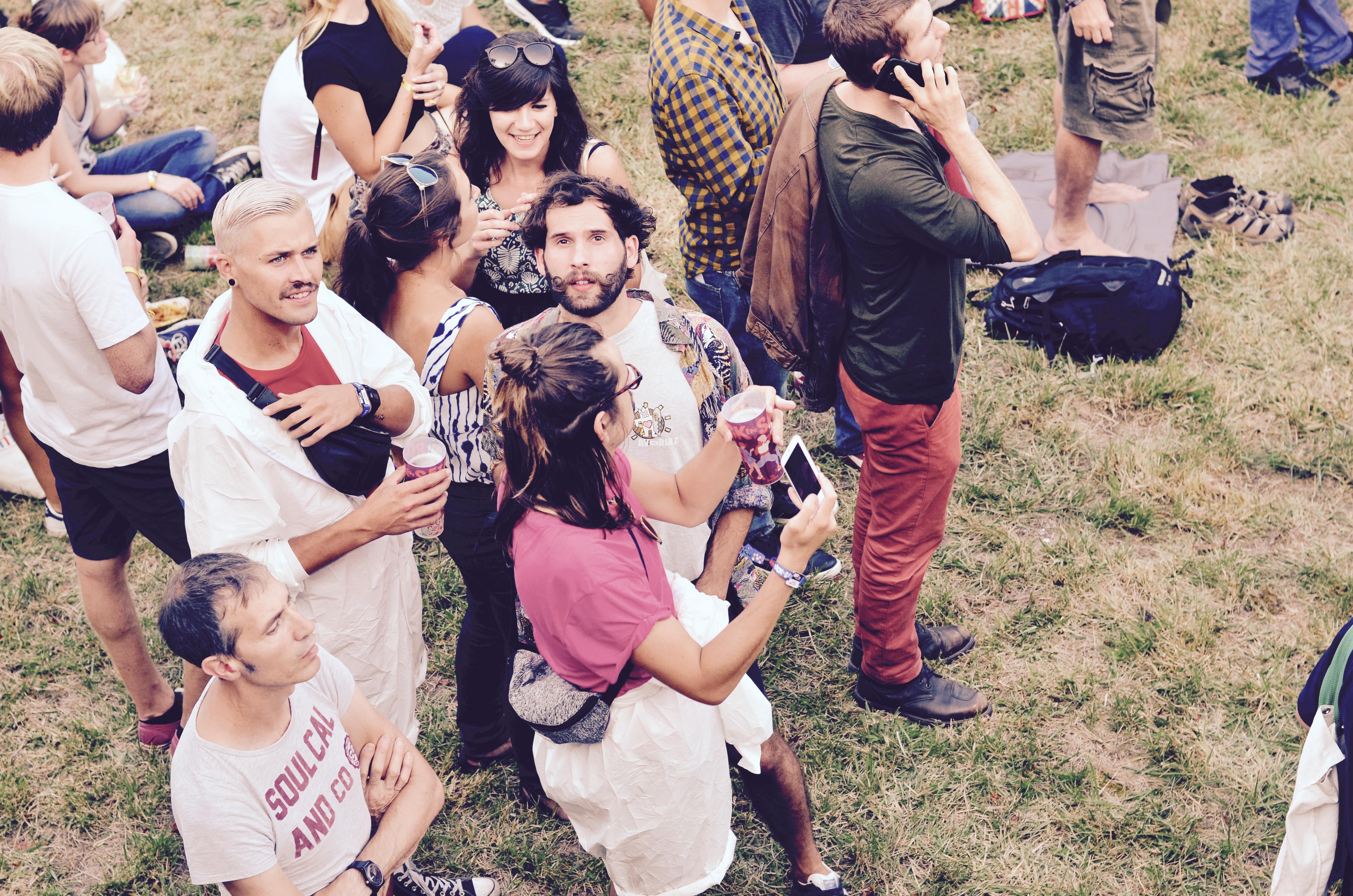 Festivaliers Rock en Seine 2017 Hipsters