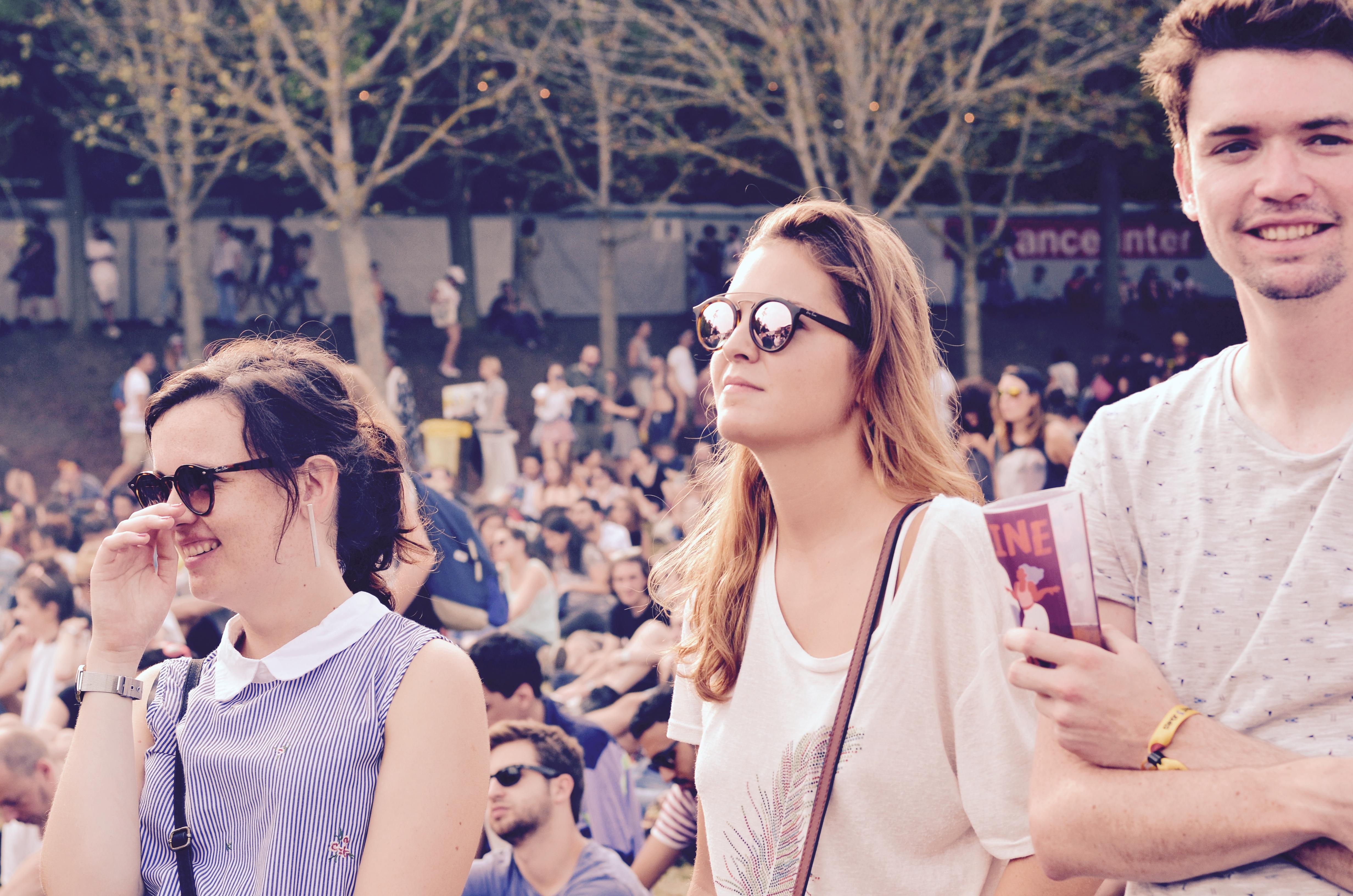 Festivaliers Rock en Seine 2017 nice glasses