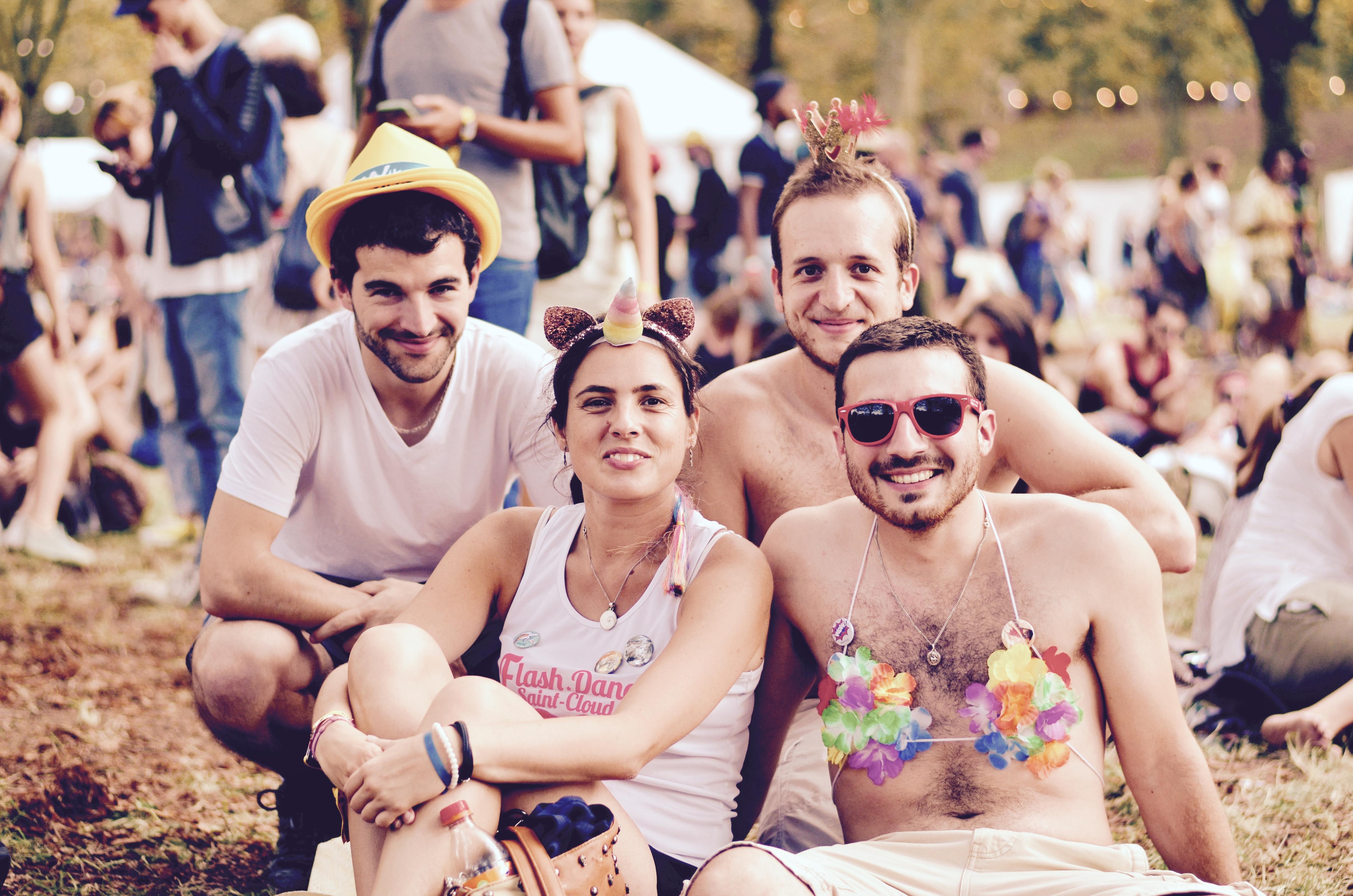 Festivaliers Rock en Seine 2017 licorne