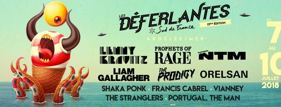 Affiche festival Déferlantes Argelès 2018