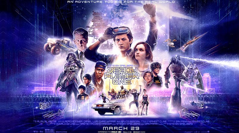 affiche Ready Player One Steven Spielberg 2018
