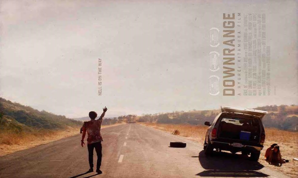 Affiche film downrange