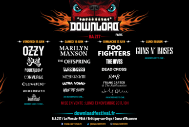 Affiche download festival 2018