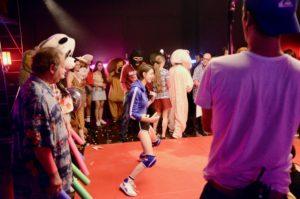 tournage du clip du Prince Miiaou « Flip the switch »