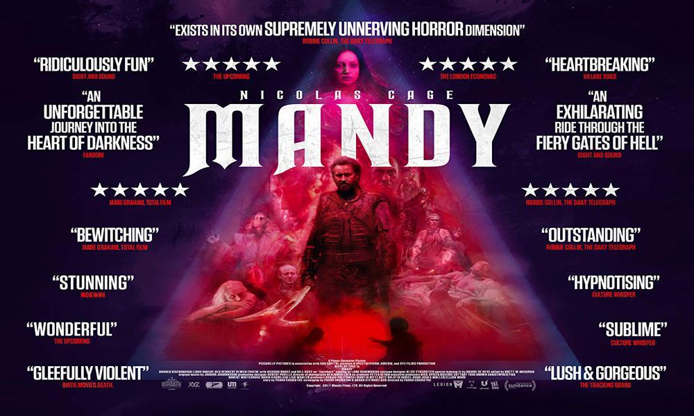 Mandy l'étrange festival 2018