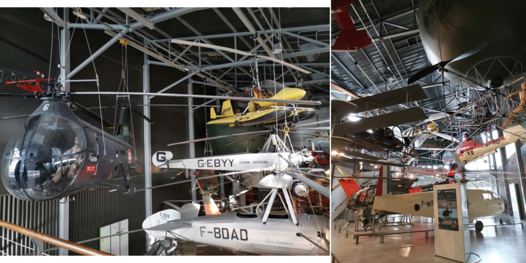 hall helicoptere musee de l air