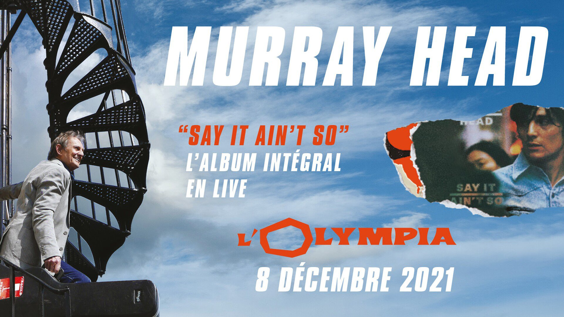 Murray Head tournée 2021