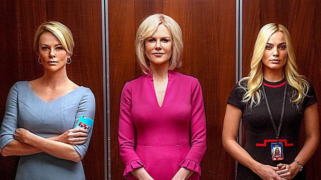 Charlise Theron, Margot Robbie et Nicole Kidman pour le film scandale 2020