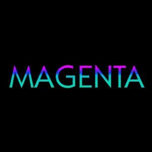 logo du groupe de musique magenta club