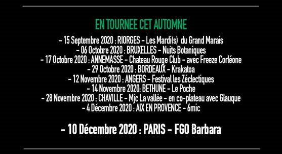 SÜEÜR TOURNEE 2020