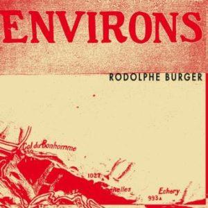 RODOLPHE BURGER - Environs top album 2020