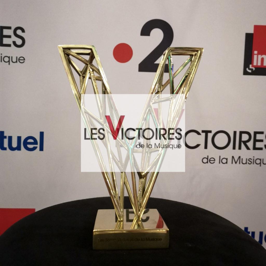 les victoires de la musique 2021 nouveau trophée