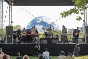 Maxwell Farrington & le super homard live at La Villette Sonique 2021